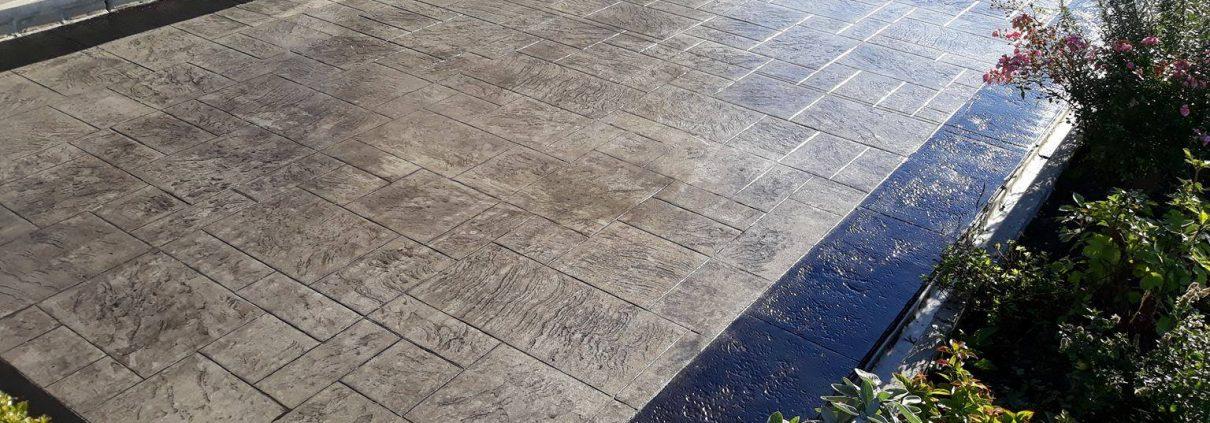 Entretien beton imprimé