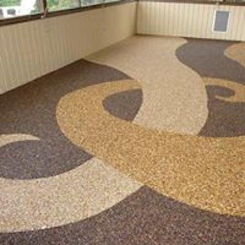 chambre tapis de pierre